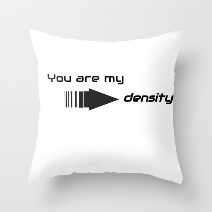 Back to the Future, Density Throw Pillow