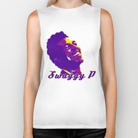lakers Biker Tanks featuring Swaggy by SUNNY Design