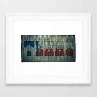 texas Framed Art Prints featuring Texas by Kam Minatrea