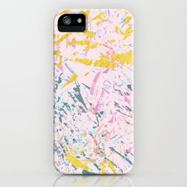 Pine Leaves - abstract pattern iPhone Case
