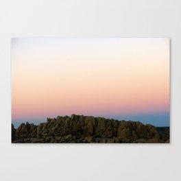 Joshua Tree Sunset 002 Canvas Print