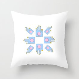 Hand 8 Throw Pillow