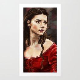 Clara of Sherwood Art Print