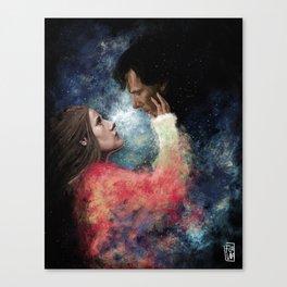 Stardust Canvas Print