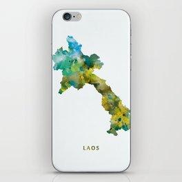 Laos iPhone Skin
