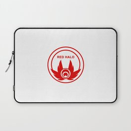Red Halo Logo Laptop Sleeve