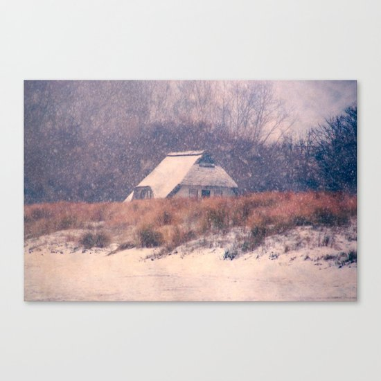 Snowhouse Canvas Print