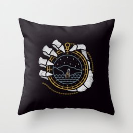 Dead in the Water Throw Pillow