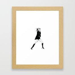 Karlie | Fashion Illustration Framed Art Print