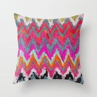 chevron Throw Pillows featuring Chevron * by Mr & Mrs Quirynen