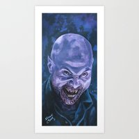 Art Print featuring Arvin, 30 Days of Night by Shawn Conn