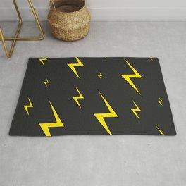 Lightning Bolt Pattern Rug