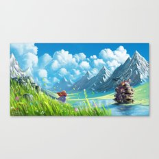 Howls Moving Castle Canvas Print