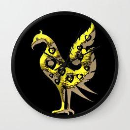 Thai Style Graphic Art of Bird Wall Clock