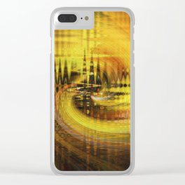 Cardiogram Clear iPhone Case