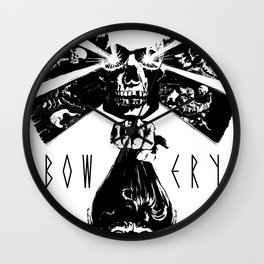 BOWERY // PRINCE OF DARKNESS Wall Clock