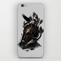 fall iPhone & iPod Skins featuring Legends Fall by nicebleed