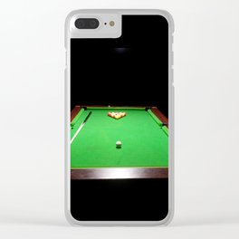 Pool Table Clear iPhone Case
