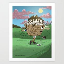 #24 Art Print