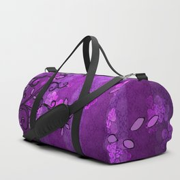 LEAVE - Spring Plum Duffle Bag
