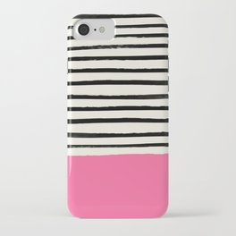 Watermelon & Stripes iPhone Case