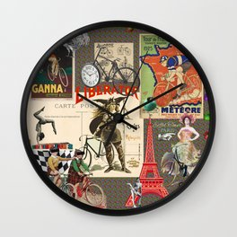 Ready for the Race Wall Clock