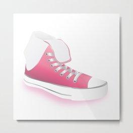 Pink Shoes Metal Print