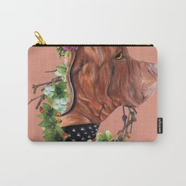 Flower puppy Carry-All Pouch