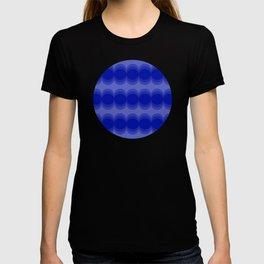 Four Shades of Blue Circles T-shirt