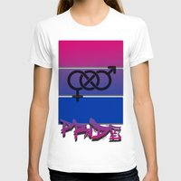 bisexual T-shirts featuring Bisexual Pride! by Creature Creation Cafe