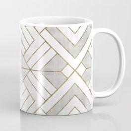 Lennox Vintage Deco - White & Gold Coffee Mug