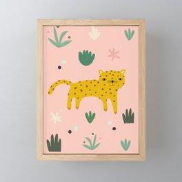 Leopard Art Print Framed Mini Art Print