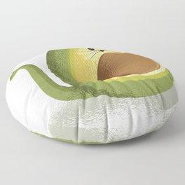 avocado mousse Floor Pillow
