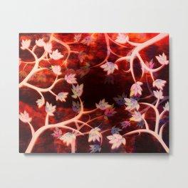 Blood Sky Metal Print