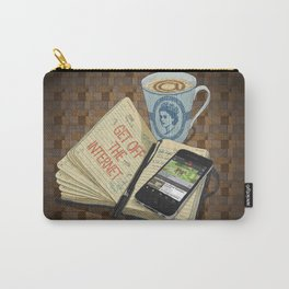Internet Addict Carry-All Pouch