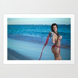 Sexxxy Art Print