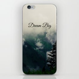 Dream Big II iPhone Skin