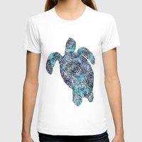sea turtle T-shirts featuring Sea Turtle by LebensART