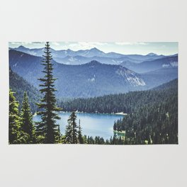 Dewey Lake, Washington Rug