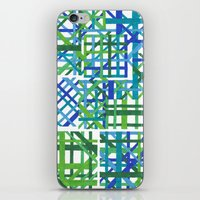 plaid iPhone & iPod Skins featuring Plaid by Smiley's Dreamboat