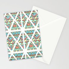 Aztec shapes Stationery Cards