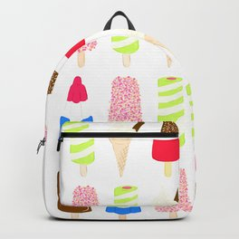 Classic Summer Ice-Creams Backpack