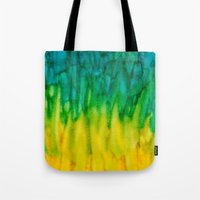 iggy Tote Bags featuring BGY Iggy by Paper Rescue Designs