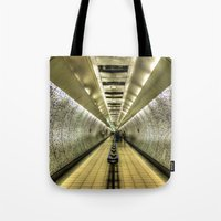 velvet underground Tote Bags featuring Underground by Svetlana Sewell