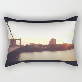 Hennepin Ave Bridge Rectangular Pillow