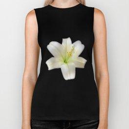 Cotton Seed Lilies Biker Tank