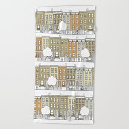 Brooklyn (color) Beach Towel