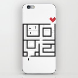 The Path of Love iPhone Skin