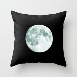 just moon Throw Pillow