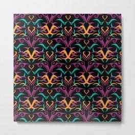 Ethnic Pattern 2 Metal Print